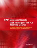 Buy Web Intelligence BI 4.1 Book